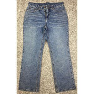 RIVETED BY LEE Blue Denim Womens 10 Low Rise Jeans
